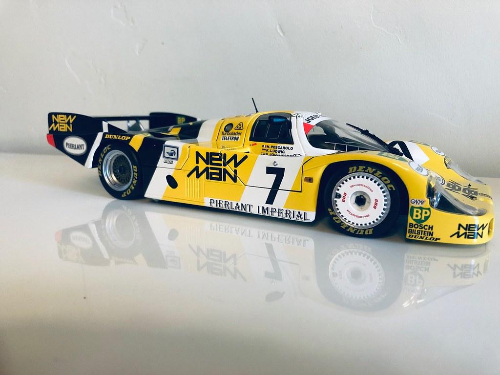 MB 300SL LE MANS WINNER 1952 -1:18 CMC - DX Motorsports