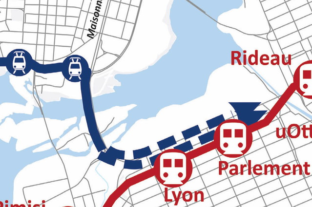 STO tramway across Portage