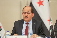 رئيس الائتلاف الوطني - عبد الرحمن مصطفى