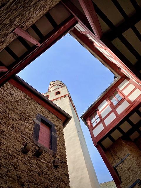 Inside Marksburg castle