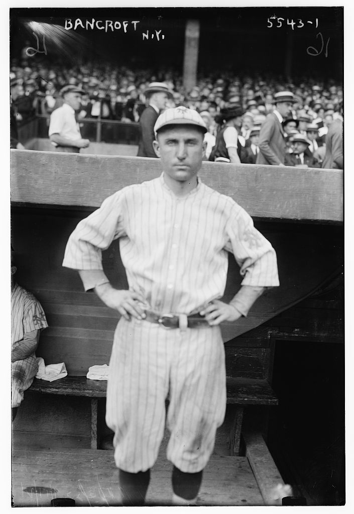 [Dave Bancroft, New York NL (baseball)] (LOC)