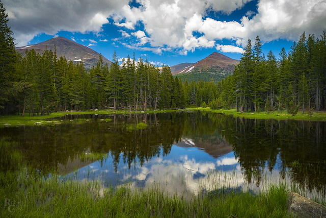 Subalpine Yosemite Pond