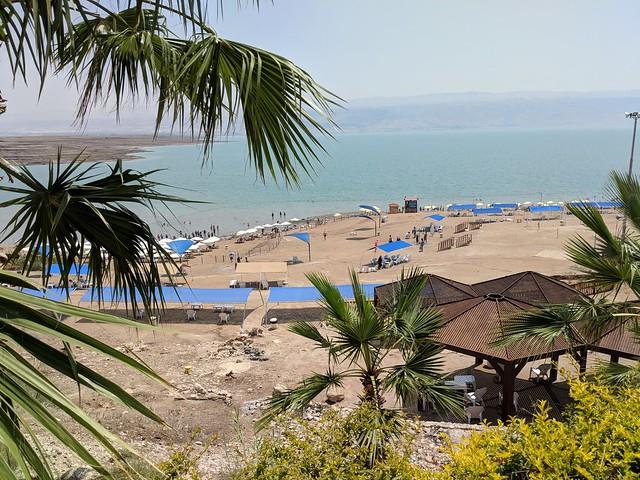 the Dead Sea just outside of Jerusalem