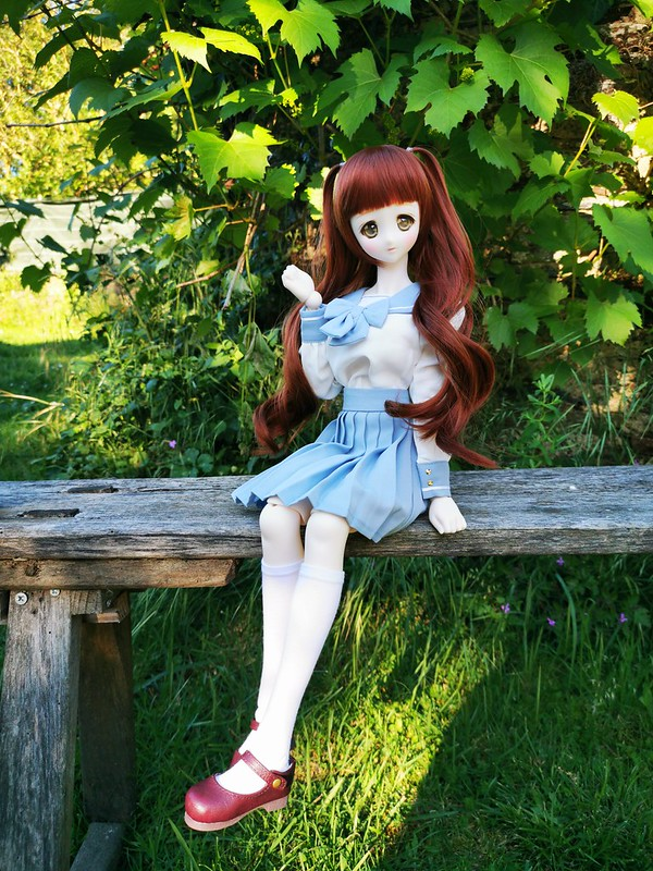 VDS :rlf,SD, shoes DD Volks, classic schoolgirl outfit SD/DD 47973621463_f754c99d34_c