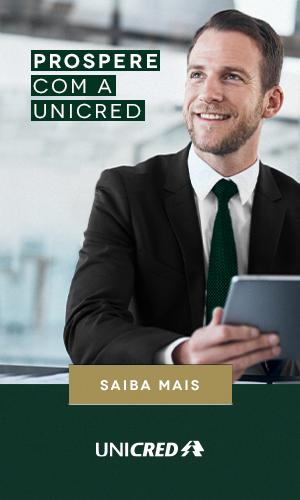 Prospere com a Unicred. Clique aqui e saiba mais!
