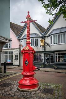 Old water pump, Market Place, Faversham