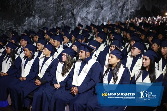 Décima Quinta Ceremonia de Graduación - Zipaquirá - Rectoría Cundinamarca