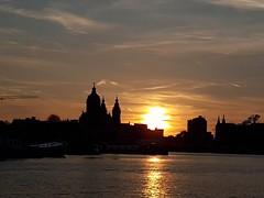 Sunset sur Amsterdam
