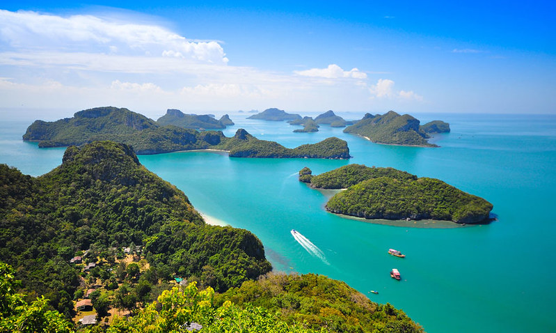 Morning View From The Ang Thong Lookout