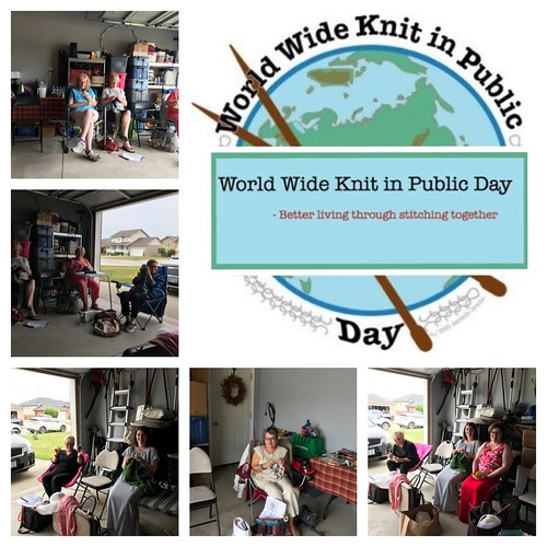 Sue2Knits Knit in Public Day 2019 is next Saturday, June 8th from 10 am until 4 pm! Come join in the fun!
