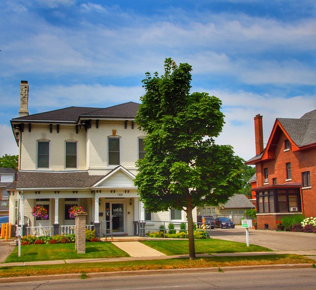 Brantford Ontario - Canada  - Elkin Natural Health Centre - Heritage Conservation District  -  Architecture