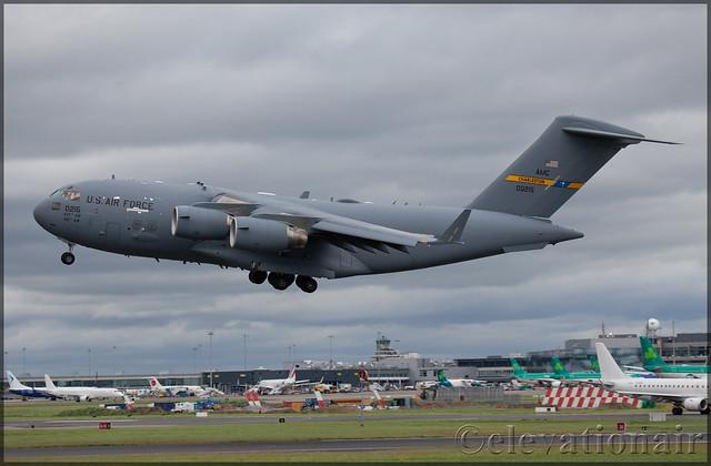 10-0215 Boeing C-17A Globemaster III United States Air Force