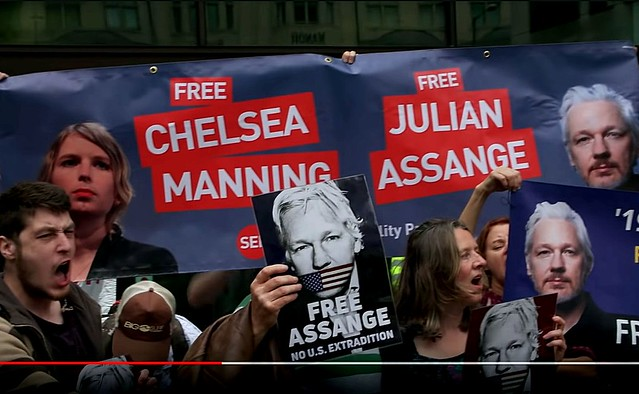Chris Hedges and John Pilger Reporting on Julian Assange's Hearing from London