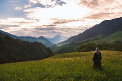 Sunset, Austria