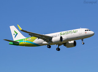 F-WWIB Airbus A320 Neo Salam Air
