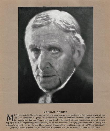 Maurice Schütz (Calendar)