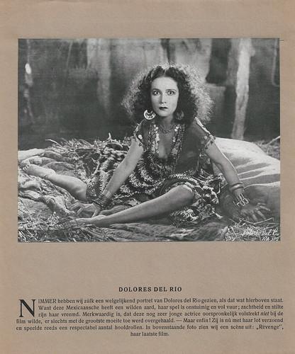 Dolores Del Rio in Revenge (1928) (Calendar)