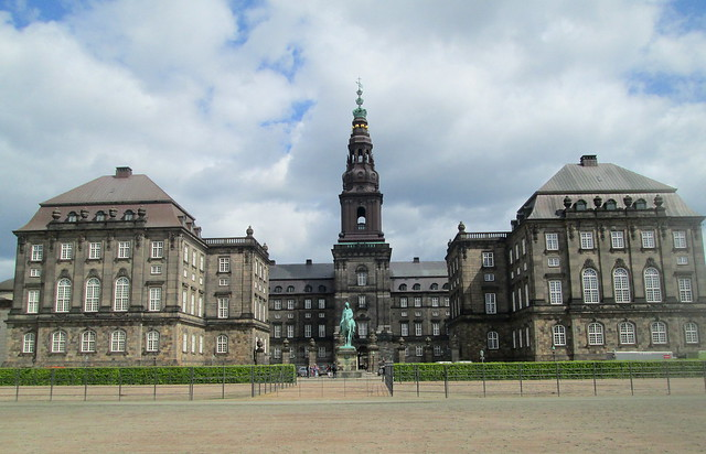 Reverse of Christiansborg Palace