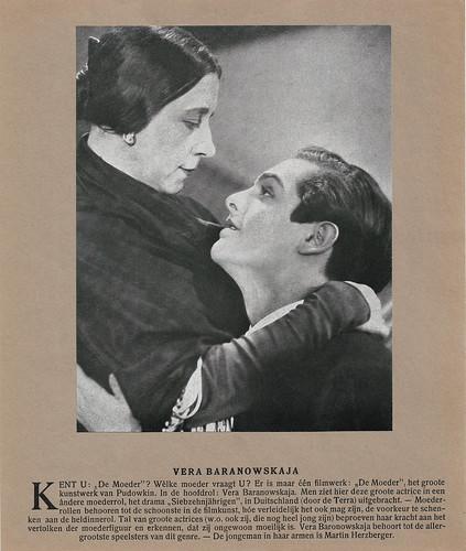 Vera Baranovskaya and Martin Herzberg in Die Siebzehnjährigen (1929) Calendar