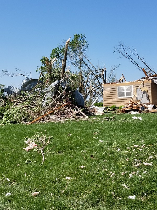Johnson County employees assisting nearby counties after tornado