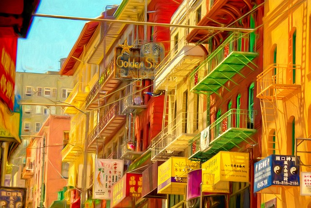 The Colors of Chinatown
