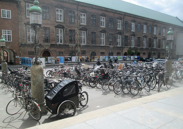 Bikes and Lamp Standard, Copenhagen