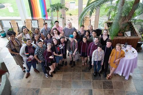 Lambda Alumni and MRC Colloquium and Lavender Graduation Ceremony