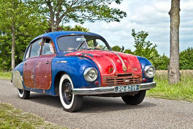 Tatra 600 Tatraplan 1953 (4636)