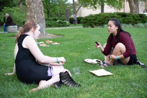 Champagne Social for Alumni and Graduating Seniors