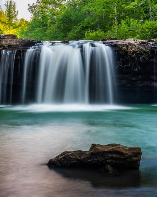 Falling Water Falls. Richland Creek. Arkansas. 2019.