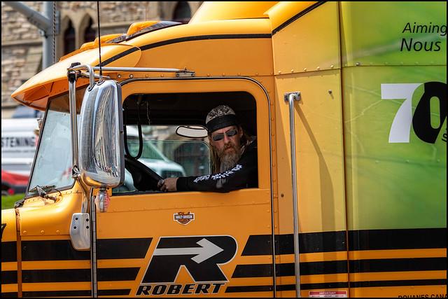 Truck Driver Look
