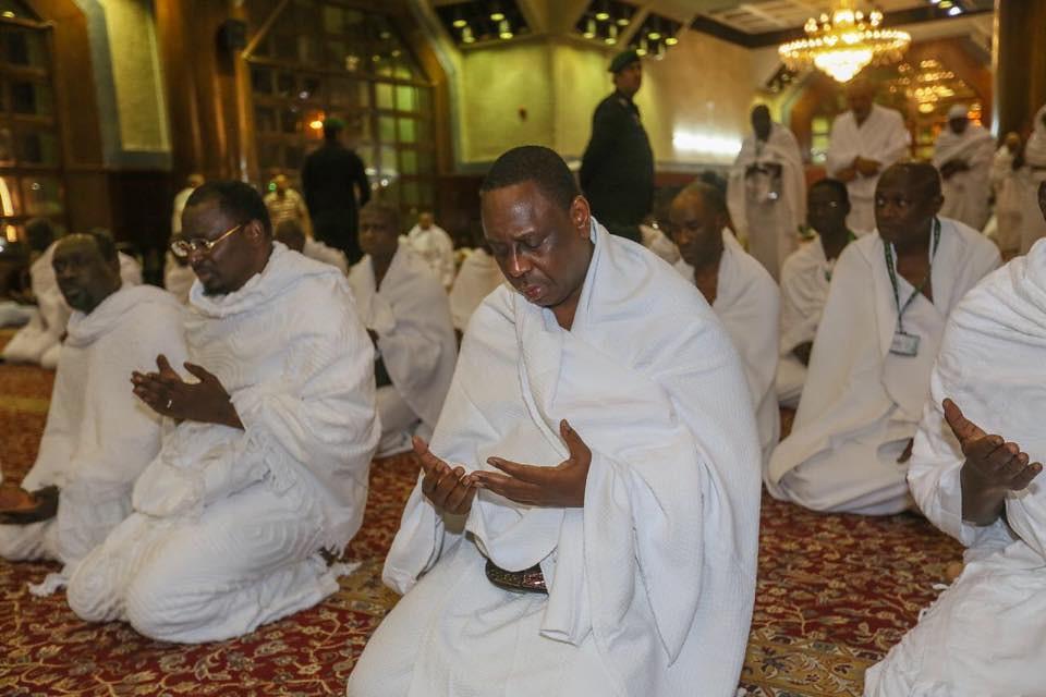 Macky Sall effectue la Oumra à la Mecque, LVS