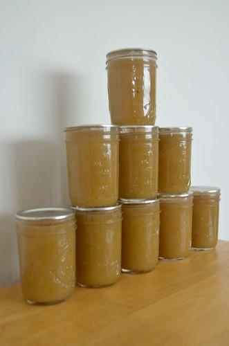 Vanilla Pear Jam/Sauce