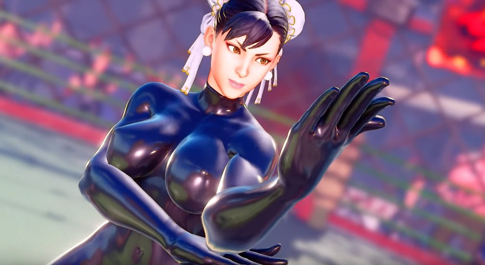 Street Fighter V - Chun Li Latex bodysuit Mod