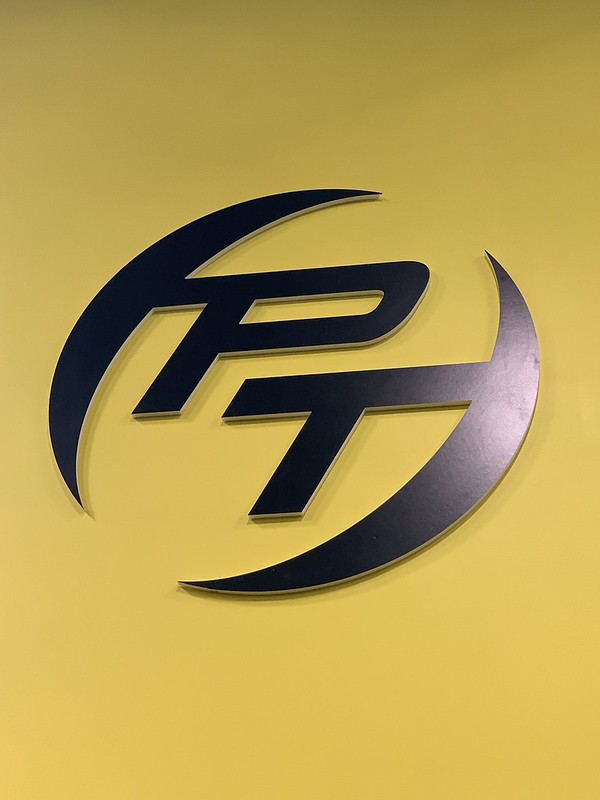 Power Train Gym logo