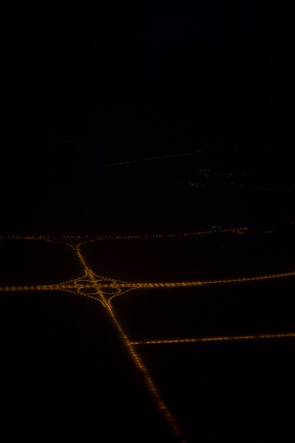 The Highway intersection in Dubai