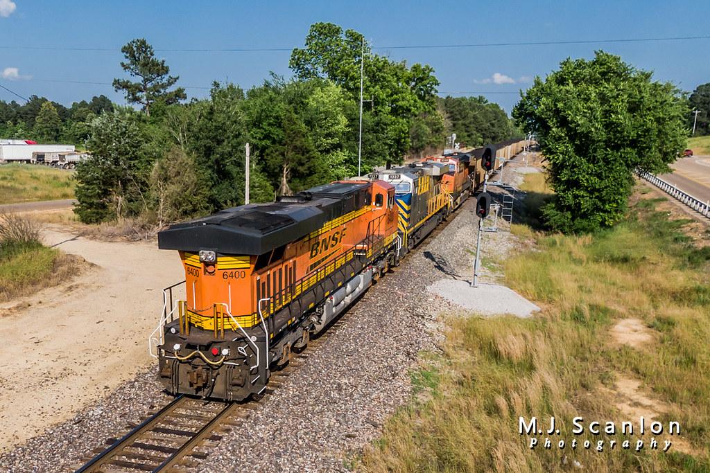 BNSF 6400   GE ES44AC   BNSF Birmingham Subdivision   Flickr