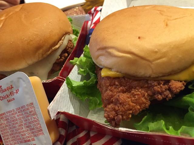Chickn Sandwiches