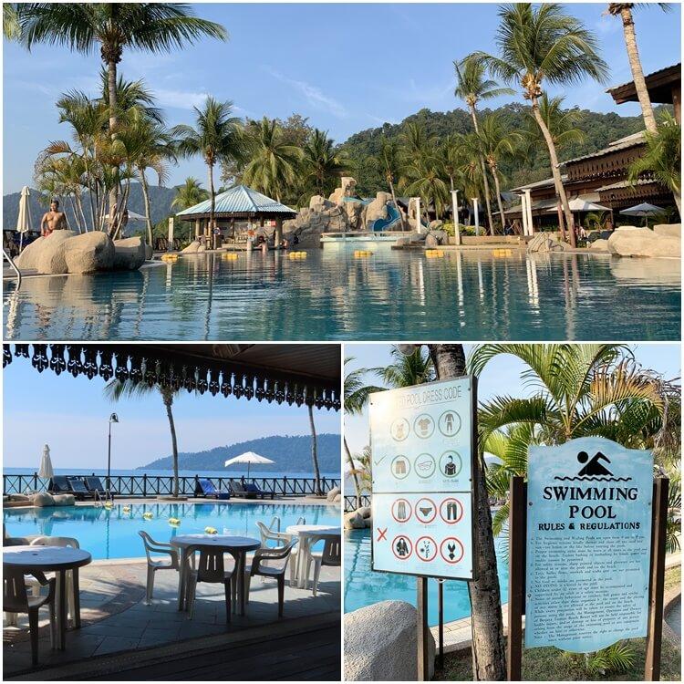 Berjaya Tioman Resort swimming pool
