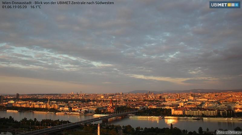 Morgensonne ü. Wien
