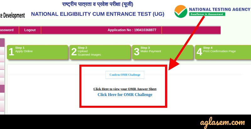 NEET 2019 OMR Sheet Released by NTA; Result to be Out on 5 Jun at ntaneet.nic.in