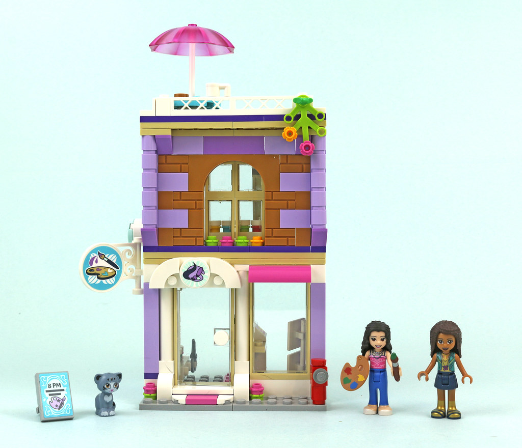 Review 41365 Emma S Art Studio Brickset Lego Set Guide And Database