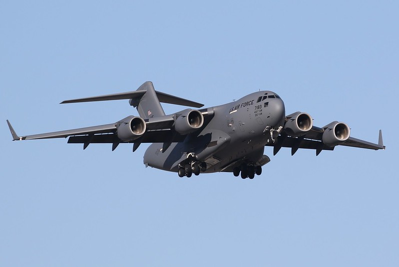 07-7183 United States Air Force Boeing C-17 Globemaster III