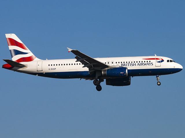 British Airways | Airbus A320-232 | G-EUUP