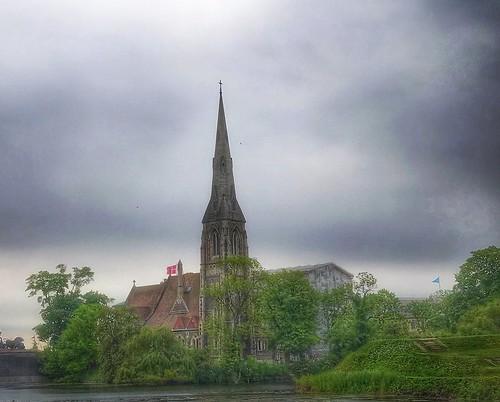 stalban'schurch church denmark copenhagendenmark copenhagen