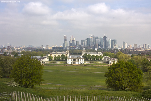 London from Greenwich Park
