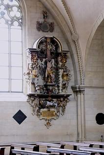 Münster, Westfalen, Paulusdom, monument to Wennemarus Aschbroch