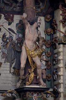 Münster, Westfalen, Paulusdom, monument to Wennemarus Aschbroch, detail