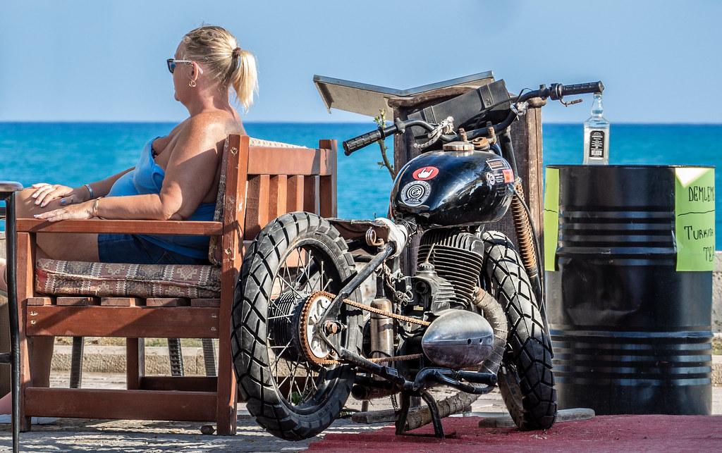 Easy Rider pub, Side, Turkey, May 2019.