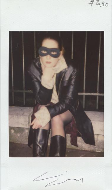 Mascarade nocturne de JUliette Meliah, Montamartre, Paris, 2003